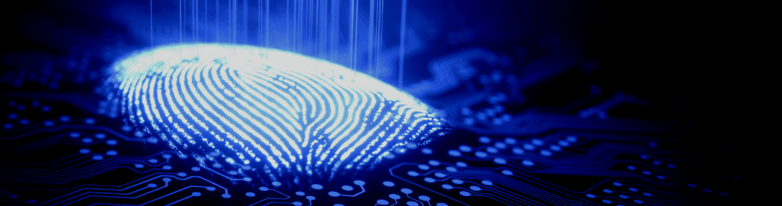 identity verification with fingerprint scanning