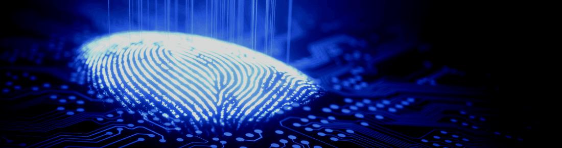identity verification with fingerprint scanning