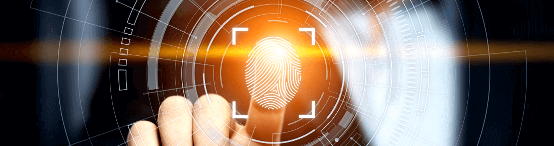 biometric fingerprint scanning